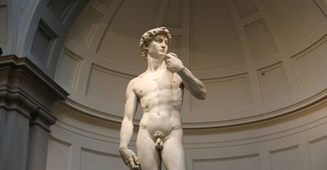 Florence City Center including the Accademia with Michelangelo?s David Skip-the-Line Guided Tour – Private Tour in Portuguese