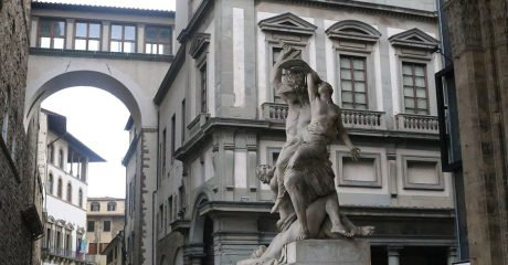 Florence City, Accademia with Michelangelo's David & Uffizi Museum Skip-the-Line Combo Tour – Private Tour in Portuguese